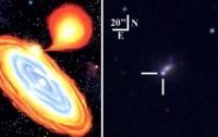 Dibujo20091105_Supernova_2002bj_model_and_photograph_in_february_2002