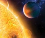 Dibujo20100203_Artist_impression_of_extrasolar_planet_HD_189733b_where_Fluorescent_methane_was_spotted