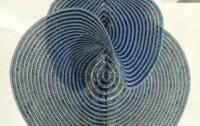 Dibujo20100717_hinke_osinga_crocheted_invariant_manifold_at_origin_of_lorenz_system