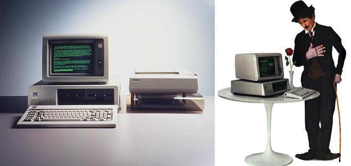 La historia de los ordenadores personales pc de ibm - Fotos de ordenadores ...
