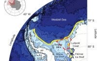 Dibujo20120509 Map of Weddell Sea bathymetry south of 60 deg South