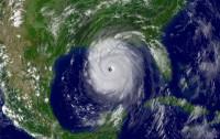 Huracán Katrina el 28 de agosto de 2005.