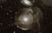 Dibujo20130101 galaxy ngc474 - cosmic blender - shell elliptical galaxy
