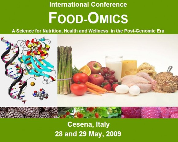 Dibujo20130401 1st int conf food-omics - cesena italy - may 2009