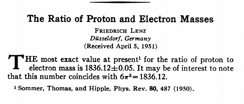 Dibujo20130522 the ratio proton electron masses - paper physical review 1951