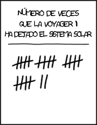 Solar Systems: Voyager Solar System Xkcd