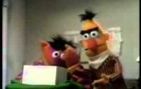 Sesame Street - Bert and Ernie - Ernie's Ice Cubes