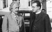 Dibujo20131115 Einstein - Lemaitre - 1933