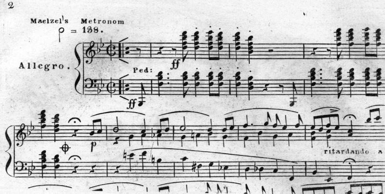 Dibujo20131122 beethoven piano sonata with maelzel metronom - beethoven center california state university san josen