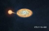 Dibujo20131122 binary sistem XTEJ1118 480 - Gabriel Perez -SMM-IAC- prensa824_1061