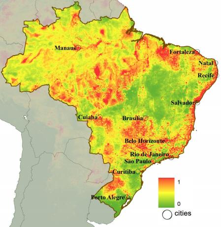 Dibujo20131127 location cities 12 stadium brazil world cup - probability dengue - nature