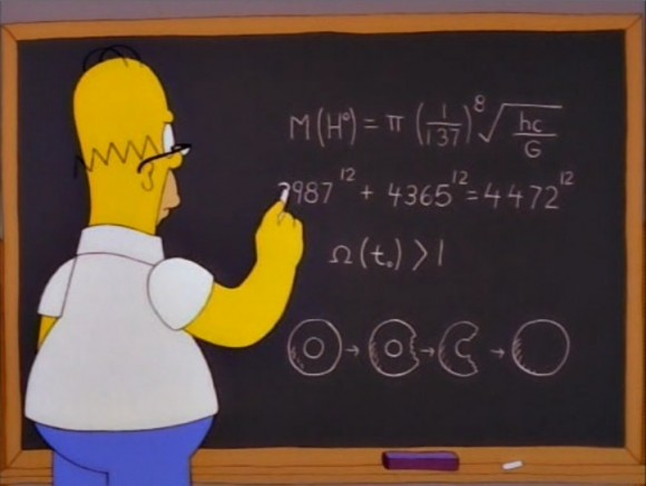 Dibujo20131216 homer simpson - blackboard - formula speculation