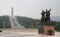 Dibujo20140127 southern jiangsu victory monument in maoshan mount