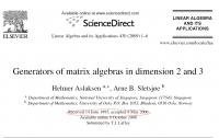 Dibujo20140422 generators - matrix algebras - paper - sciencedirect
