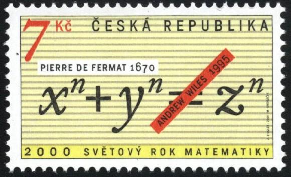 Dibujo20140610 Pierre de Fermat - stamp