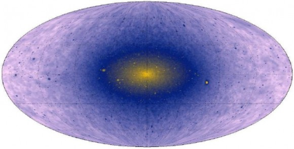 Dibujo20140618 Gamma-Ray Signal from the Central Milky Way - Compelling Case for Annihilating Dark Matter
