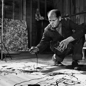 Dibujo20141024 Jackson Pollock painting by coiling - The Pollock Krasner Foundation Artists Rights Society New York