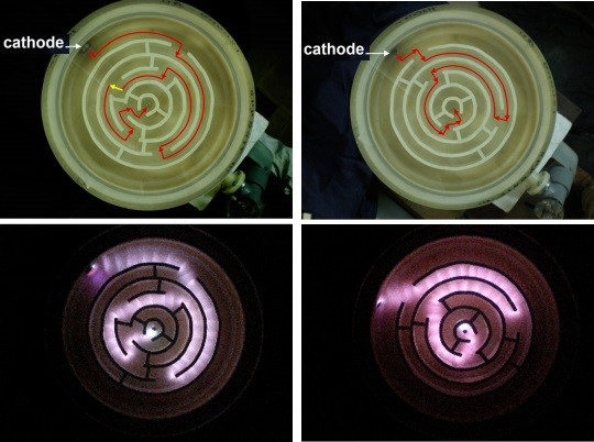 Dibujo20141103 solution simple maze by glow discharge - phys plasmas - aip org