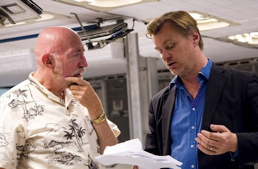 Dibujo20141121 kip thorne and christopher nolan - endurance control - story telling
