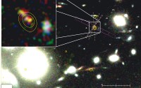 Dibujo20150302 The gravitationally lensing galaxy cluster Abell 1689 - nature14164-f1