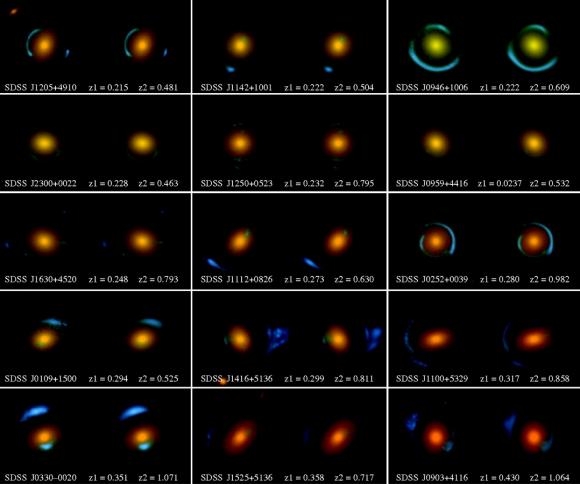 Dibujo20150306 multiple images for a strong elliptical lens