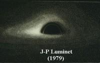 Dibujo20150330 jp luminet 1979 acretion disk black hole