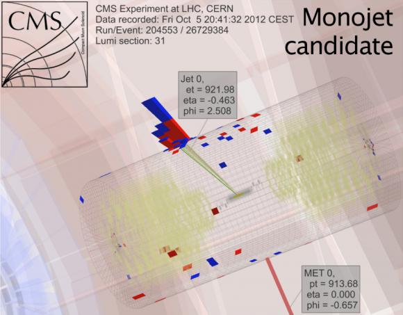 Dibujo20150401 monojet candidate - cms lhc cern