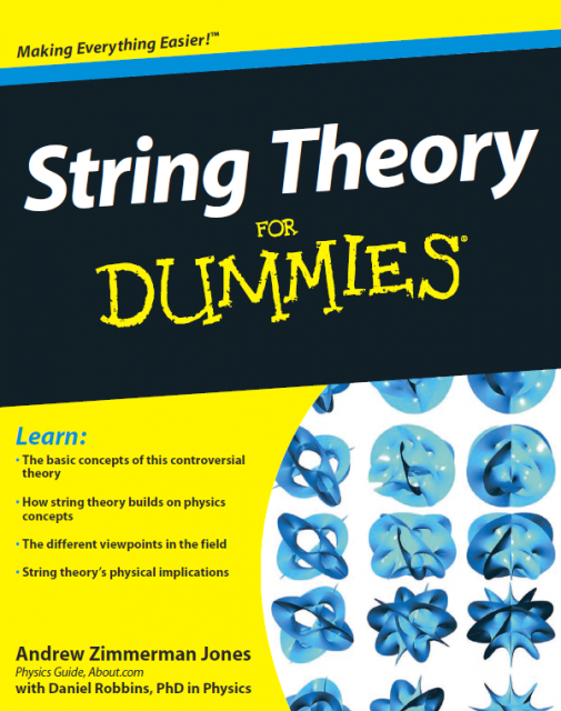 Dibujo20150707 book cover - string theory for dummies - zimmerman - robbins - wiley