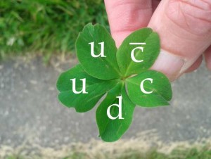 Dibujo20150715 five leaf clover pentaquark - Photo Credit Cathy Handel