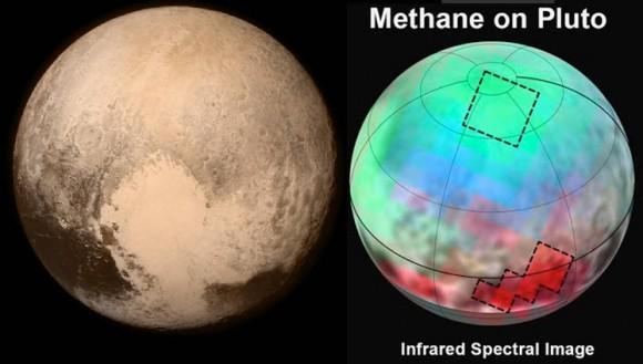 Dibujo20150718 pluto - methane - infrared spectra - new horizons - nasa