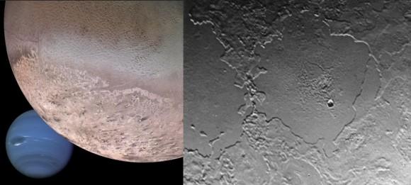 Dibujo20150718 triton - neptune - new horizons - nasa