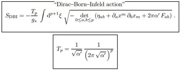 Dibujo20150818 supersymmetric ten-dimensional action - d-branes - szabo