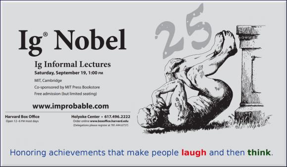 Dibujo20150922 ig nobel 2015 - 25th ceremony - poster - improbable com