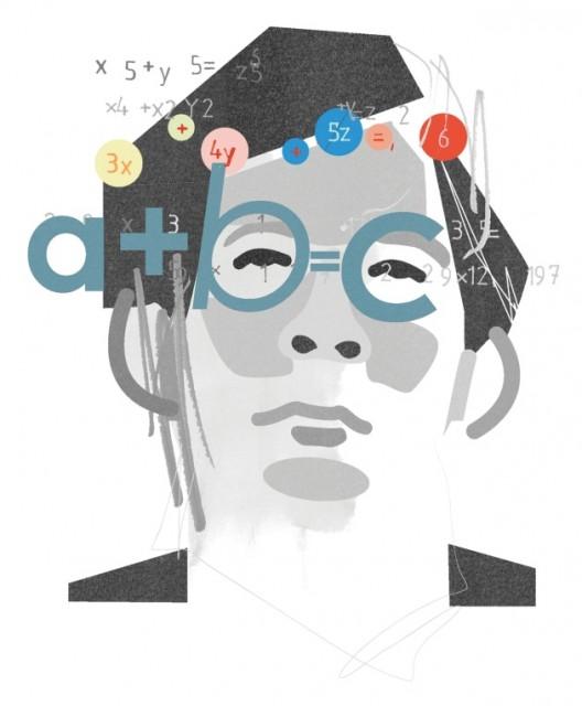 Dibujo20151021 Shinichi mochizuki mathematician llustration by Paddy Mills for nature com