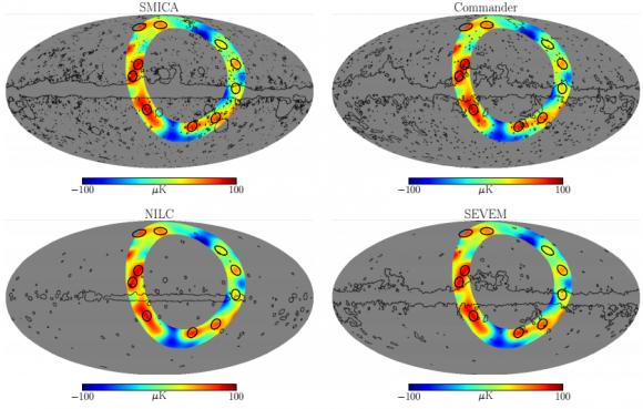 Dibujo20151130 positions local maxima temperature cmb loop i relative to planck cmb maps arxiv org