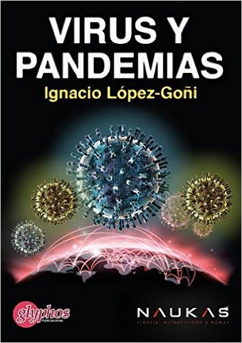Dibujo20160115 book cover virus y pandemias ignacio lopez-goni naukas glyphos