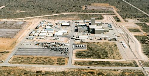 Dibujo20160123 aerial photograph WIPP Facility