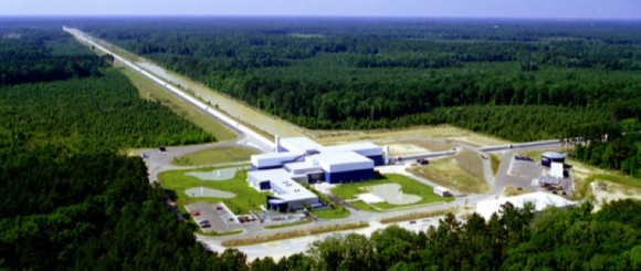 Dibujo20160217 ligo livingston facility louisiana credit ligo collaboration nsf
