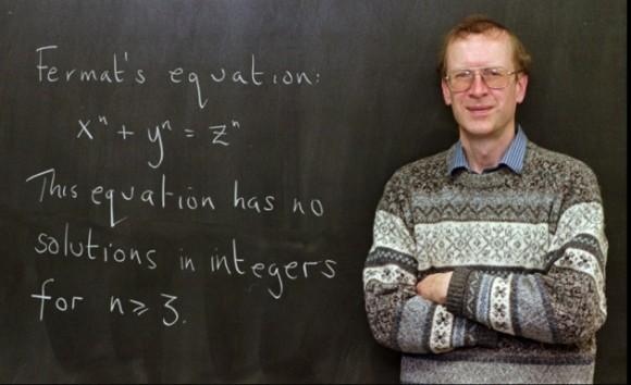 Dibujo20160315 Andrew Wiles fermat last theorem blackboard lowAP_9801060667 nature news