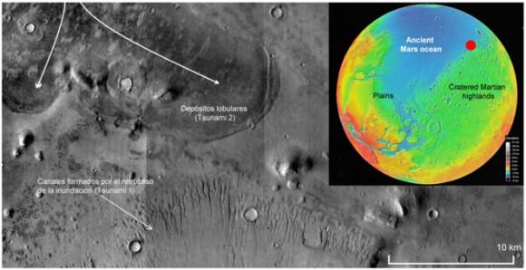 Dibujo20160522 S6 northeast arabia terra mars reconnaissance orbiter nasa march 2008 srep25106