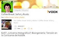 Dibujo20170210 coffee break senyal y ruido episodio 97 universo holografico