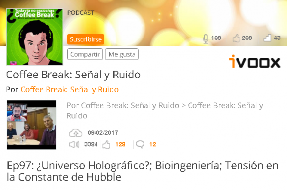 Dibujo20170210 coffee break senyal y ruido episodio 97 universo holografico