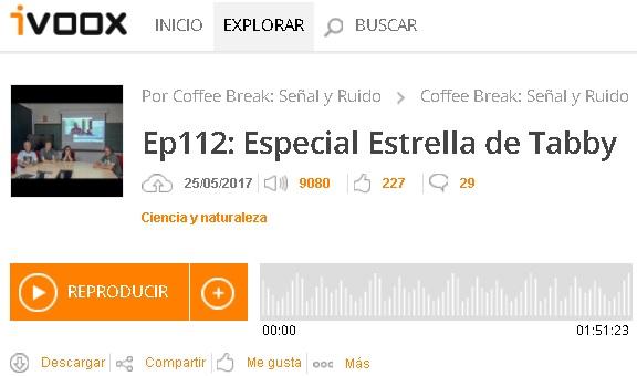 Dibujo20170527 ivoox coffee break ep 112 estrella tabby
