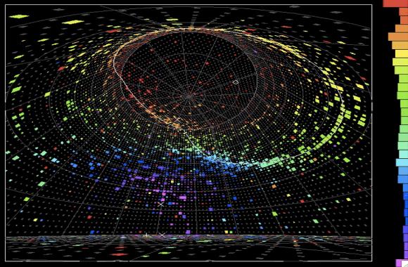 Dibujo20170804 electron-neutrino candidate in Super-Kamiokande www icrr u-tokyo ac jp 170804