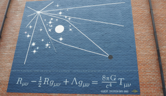 Dibujo20171128 einstein equations Leiden wall formulae project photo hielco kuipers