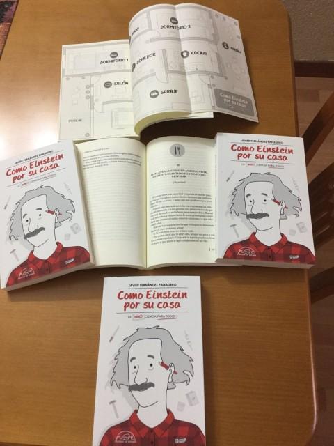 Dibujo20171201 books open como einstein por su casa javier fndez panadero