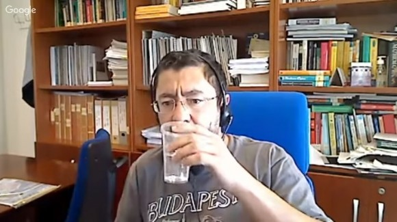 Dibujo20180412 entrevista en youtube Plane To the Brain