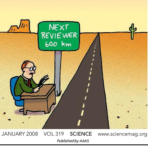 """Dándole vueltas a """"A peer review of peer review"""" o ser revisor es una gran cosa"""