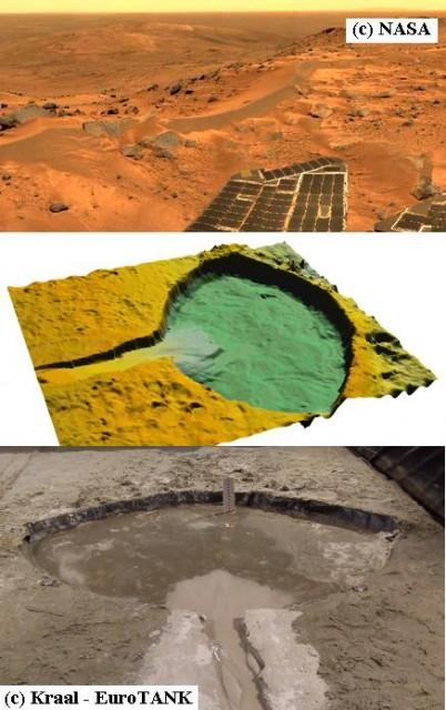 Agua en el subsuelo de Marte (o no cayó lluvia en el pasado marciano)
