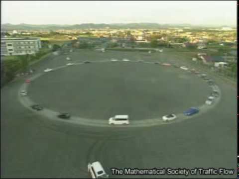 Cosas de japoneses (o un atasco de tráfico en una carretera circular)